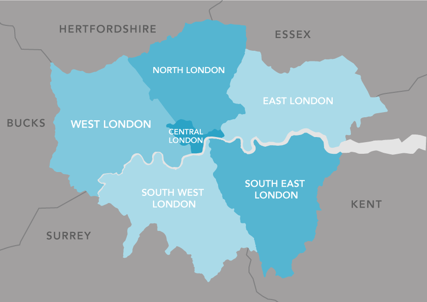 Artist Studio Finder London Regions